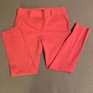 LOFT Marissa Skinny Fushia pants